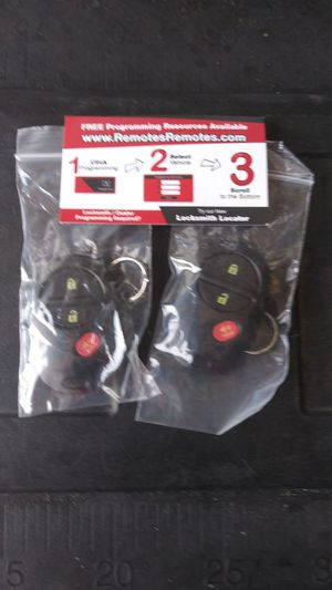 New alarms for toyota tacoma. 2 x $ 25 for Sale in Nashville, TN