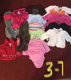 3 month baby girl clothes for Sale in Tonawanda, NY
