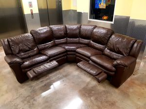 Sectional couch with two Recliners for Sale in HALNDLE BCH, FL