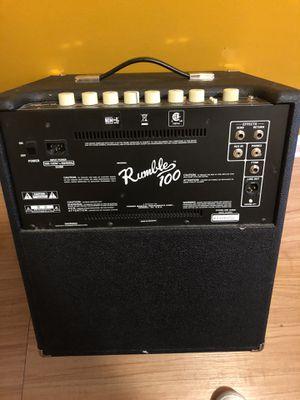 Fender Rumble 100 Bass Guitar Amp for Sale in Philadelphia, PA