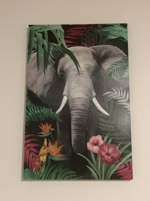 Elephant Canvas Art for Sale in Orange, CA