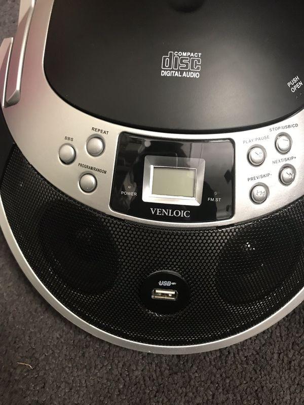 Venloic Portable CD Player