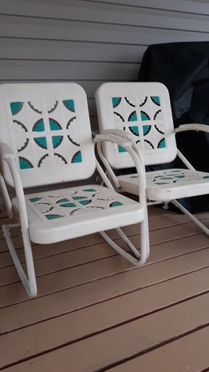 1939 Antique Metal Chairs for Sale in Kernersville, NC