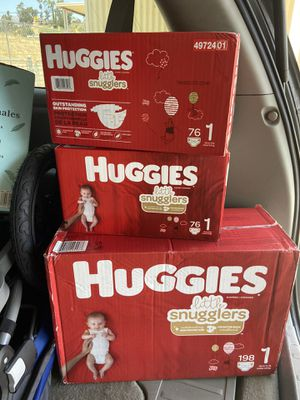 Huggies Diapers brand new size 1 for sale or trade for Sale in El Cajon, CA