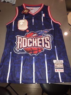 Rockets BAPE Jersey for Sale in Seattle, WA