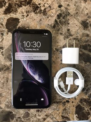 iPhone XR Black 128GB Sprint/Boost Working Perfectly Fine for Sale in Pompano Beach, FL