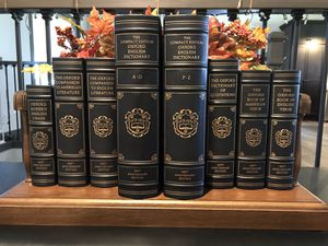 The Oxford Reference Classics of the English Language 1478-1978 for Sale in Eau Claire, WI