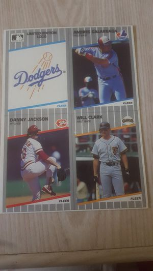 1989 Fleer Baseball Bottom of box Cards for Sale in Hayward, CA