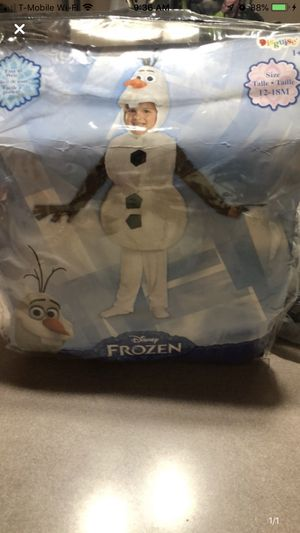 Olaf outfit for Sale in South River, NJ