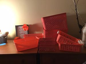 Coral colored room/dorm decor for Sale in Elkins Park, PA
