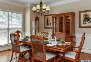 Wooden dining room table with six chairs and table extensions for Sale in Fort Lauderdale, FL