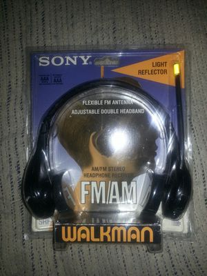 NEW SONY AM/FM HEADPHONE WALKMAN for Sale in Glen Burnie, MD