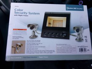 Bunker Hill security cameras with monitor for Sale in Murrieta, CA