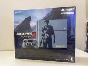 Barely used PS4 Uncharted Edition + 12 games + extras for Sale in Seattle, WA