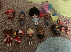 LOL DOLL LOT for Sale in Des Plaines, IL