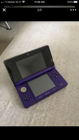 Nintendo 3ds with games for Sale in Aspen Hill, MD