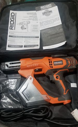 """RIGID 3"""" Drywall & Deck Collated Screwdriver for Sale in National City, CA"""