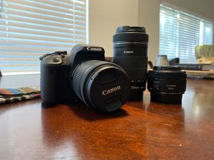 Canon Rebel T5i for Sale in Raleigh, NC