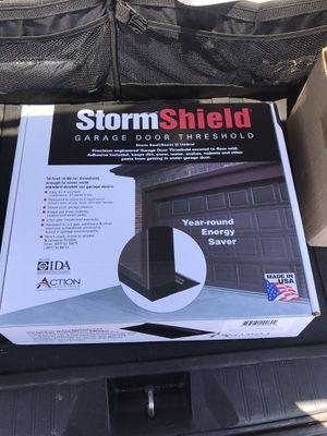 Storm Shield Garage Door Threshold New for Sale in Fresno, CA