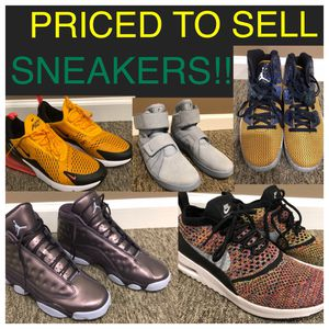 SNEAKERS!! Priced to sell. Look at ALL pictures for Sale in Philadelphia, PA