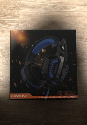 Gaming headset for Sale in Fresno, CA