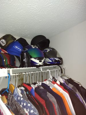 "Motorcycle gear for sale on 6""1 250 so of your my size this year is for you helmets xl for Sale in Austell, GA"