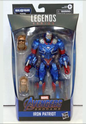 Marvel Legends Iron Patriot Collectible Action Figure with Fat Thor Build a Figure Piece for Sale in Chicago, IL