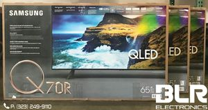 FINANCE YOUR SAMSUNG 65'' Q70R QLED SERIES 4K UHD TV for Sale in Montebello, CA