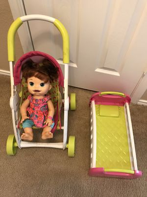 Like New Baby Alive and doll accessories for Sale in Georgetown, TX