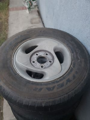 all 4 dodge ram rims got the caps too. for 140 for Sale in Fontana, CA