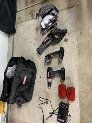 Craftsman Power Tool Set for Sale in Aurora, IL