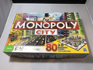 Monopoly City 3D Board Game Not complete for Sale in Phoenix, AZ