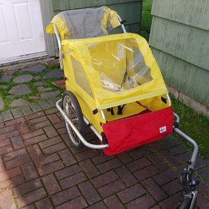 Burley Lite 2 Seat Bike Trailer/Stroller for Sale in Tacoma, WA