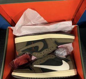 """Air Jordan Men's 1 Low """"Travis Scott"""" for Sale in El Paso, TX"""