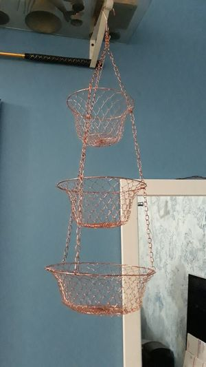 Copper Hanging Basjets for Sale in Dallas, TX
