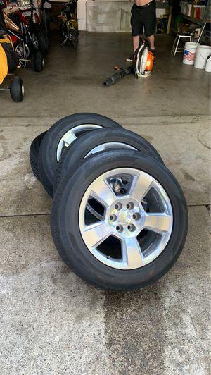 Texas Silverado 20 inch rims for Sale in Shingle Springs, CA