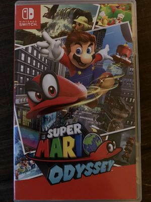Super Mario Odyssey Nintendo Switch for Sale in Plymouth, CT