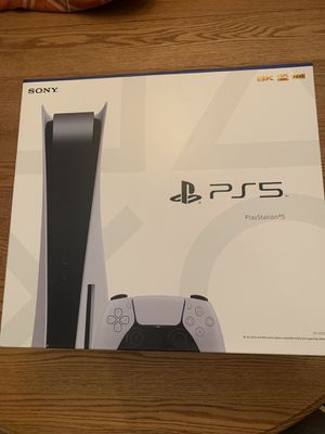 Playstation 5 PS5 Console Disk Version New for Sale in Seymour, CT