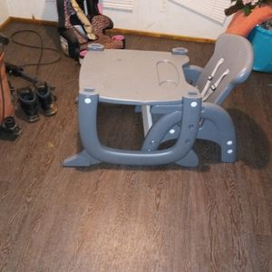 2in1 High Chair & Kiddie Table for Sale in Anderson, SC
