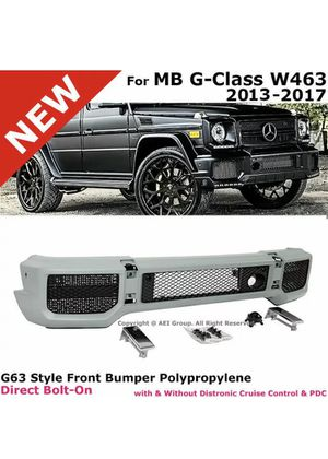 G63 FRONT BUMPER COVER KIT G-CLASS G-WAGON AMG BODY KIT G65 1990-2017 BRAND NEW Certified Mercedes Benz Part dealer / QUALITY MATTERS for Sale in Los Angeles, CA