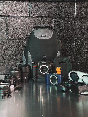 Nikon d7000 x Fujifilm X-A1 DSLR Camera Bundle w/ Lens, Bag & More for Sale in Los Angeles, CA