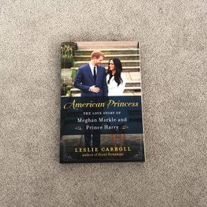 Book About Meghan Markle And Prince Harry for Sale in Culver City, CA