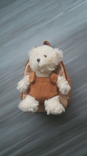 Kids toys girls boys toddler backpack teddy bear for Sale in Seattle, WA