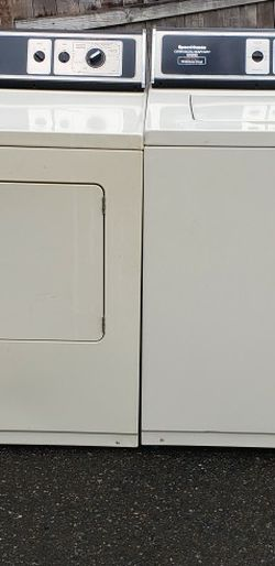 Speed Queen Washer And Dryer Set! Delivery! for Sale in Clackamas,  OR