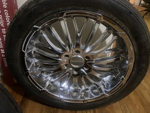 22 in rims and tires for Sale in Alexandria, LA