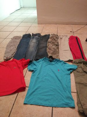 Boy clothing size 7/8 $10 for all for Sale in Miami, FL