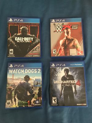 Ps4 games for Sale in Raleigh, NC