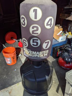 Wavemaster superx punching bag for Sale in Tacoma, WA