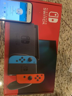 Nintendo Switch Console with Red Blue Joy-con for Sale in Chandler, AZ