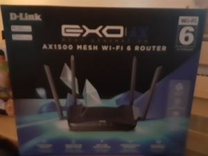 Dlink ax 1500 mesh wifi 6 router for Sale in Chelmsford, MA